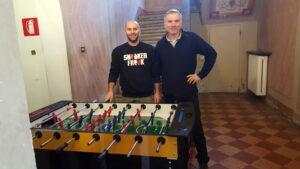 """Donazione dei """"Calcio Balilla"""""""