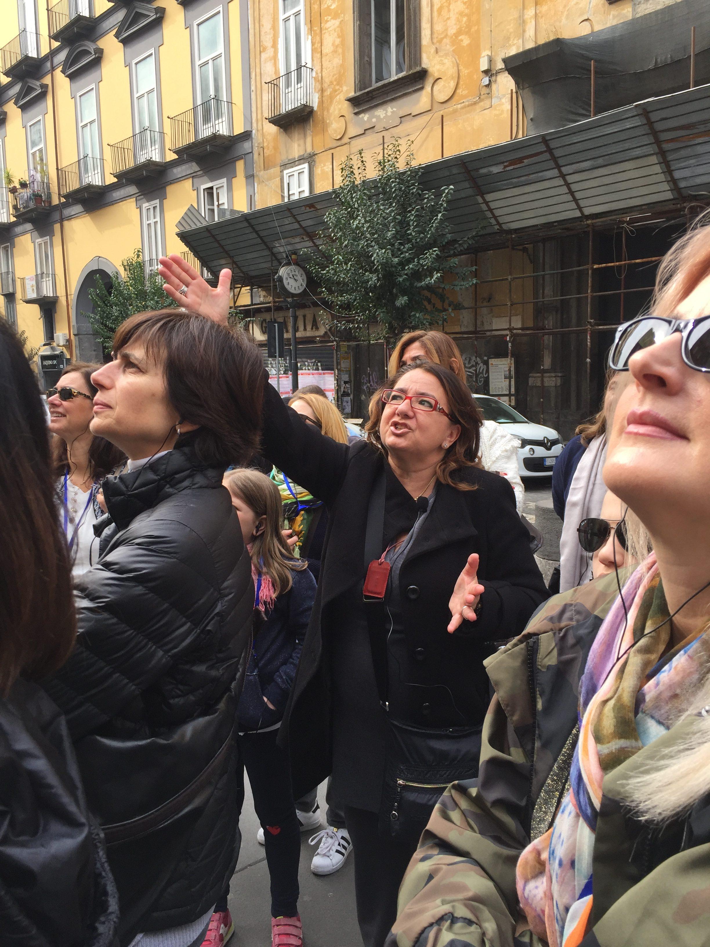 Francesca del Vecchio si e ci entusiasma