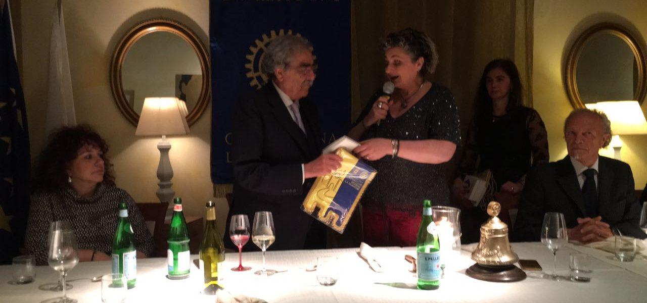Il Prof. Giuseppe Masellis ospite e relatore insieme con la consorte Prof.ssa Maria Grazia Lucchi.