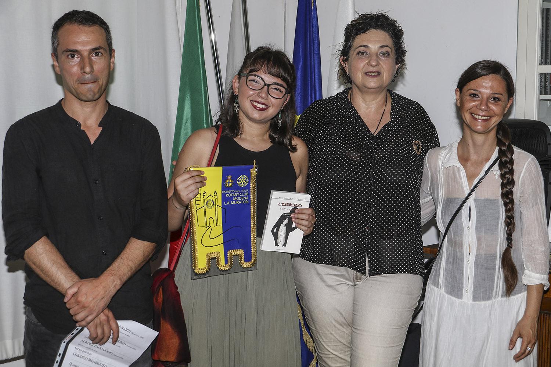 Aurora Paccasassi, terza classificata (Marche)