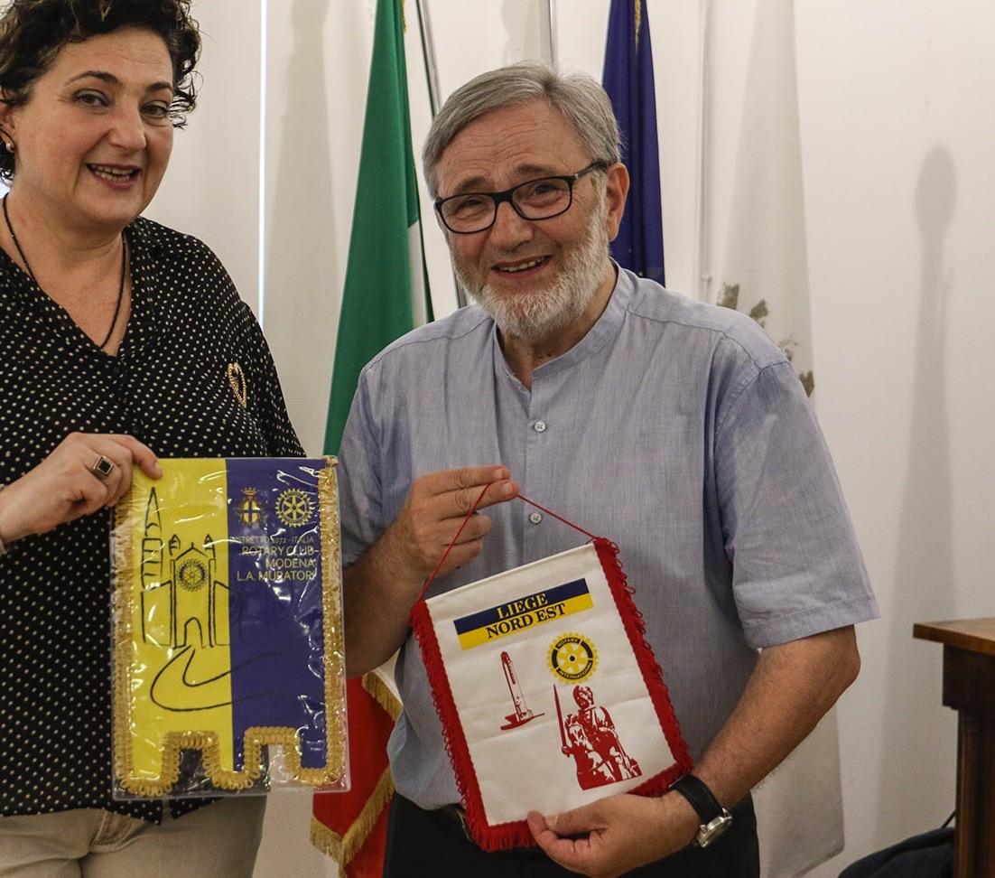 Georges Campioli del Rotary di Liegi