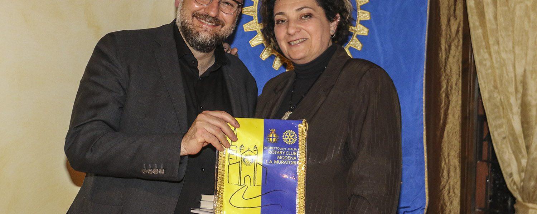"""Massimo Mezzetti relatore al club """"la cultura come motore per l'economia'"""