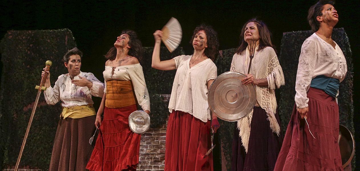 """""""Molto rumore per nulla"""": Rotary Modena Muratori e Teatro Nero per Aseop."""